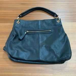 Cuore & Pelle Black Leather Handbag / Shoulder Bag